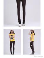 эластичный осень черные джинсы для женщин женщин карандаш джинсы карандаш брюки кожа да кости красные штаны бесплатная доставка