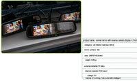 """новый! ясно зеркала заднего вида авто зеркало для Мицубиси серии i200 форд / Мондео / """" исследователь"""