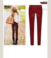 новый отличное качество, Европа стиль элегантный мода бархат тонкий дамы Crash брюки брюки, женские проигрывает