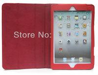 чехол для iPad мини смарт-магнитной кожаный чехол крышка подставка для нового iPad от Apple, мини с сна / услуга бесплатная доставка