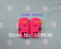 ручной работы вязка крючком младенцы обувной - для новорожденных, впервые уокер, toldder, 50 пар/лот, смешанный