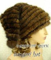 сейчас прибытие мех норки шляпа, примитивный материи шляпа, леди тёплый шляпа, размер