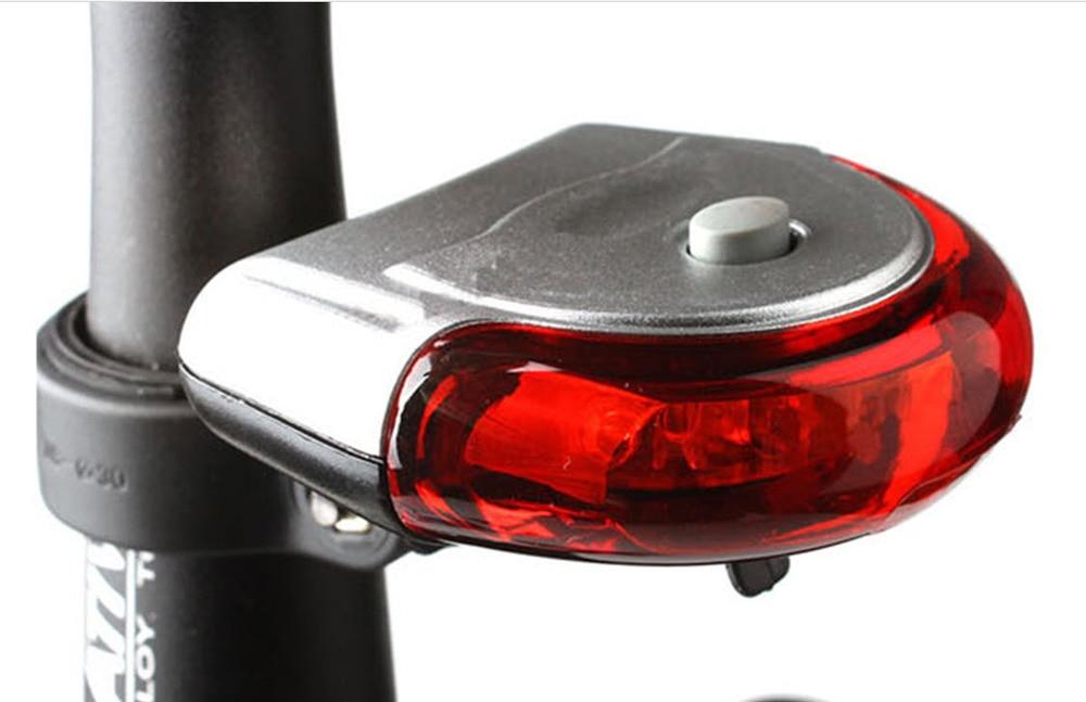 Bicycle Safety Warning Light Ufo Flash Lamp Rear Light Bicycle