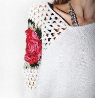 весна женская мода изделия свитер женщин конструктор высокое качество низкая цена оптовая продажа свободного покроя свитер положения женщин 3008