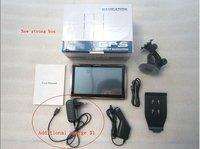 карты! 7 дюймов планшет пк с GPS навигации ствола 4 г встроенной памяти ддр 128 мб ГПС навигатор gps700203