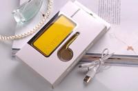 бесплатная доставка духи зарядное устройство 5600 мач портативное зарядное устройство зарядное устройство для samsung для iPhone 4с 5 5с Nokia с USB кабель с кабель
