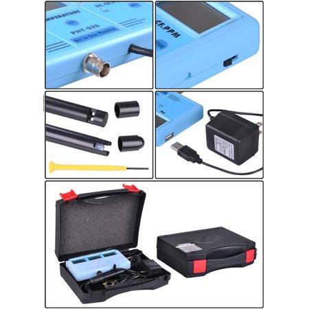 Free Shipping PH EC CF Temp TDS Meter Tester 6-in-1 Multi-Function Tester Water Testing Meter Multi-Parameter Water Monitor