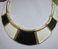 ожерелье костюм ювелирные изделия металл винтажный ожерелье леди ожерелье