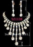 горный хрусталь ювелирных изделий кристалл ожерелье высокое качество горный хрусталь sz1275