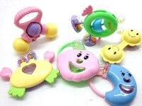 бесплатная доставка 6 шт. / комплект детские погремушки игрушка дети на английском языке упаковка cl0362