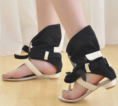 FREE SHIPPING 2012 HOT SALE S236 high quality leather uppers chic flat shoes sexy lady shoes women's fashion sandals size 34-39