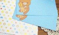 каваи медвежонок rilakkuma конверты и почтовая бумага a116