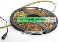 гибкий светодиодные полоска тёплый белый лёгкие ledds5m с электропитание адаптер, 10 шт