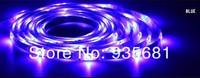 5 м ролл 3528 смд водонепроницаемый 60 светодиоды / м 300 светодиоды теплый холодный белый красный-зеленый-синий желтый цвета RGB гибкие светодиодные полосы бесплатная доставка