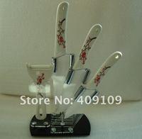 оптовая продажа высокое качество керамический нож 5 шт комплект. 4 дюймов + 5 дюймов + 6 дюймов + date ножа + нож