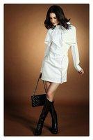 demonstyle новое постулат женская кнопки украшают платье, женское платье