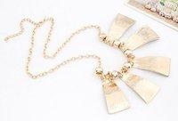 изысканный мода элегантный капля масла металл темперамент ожерелье преувеличение