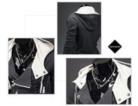 бесплатная доставка хиты высокий воротник мужской куртки мужская, свитшот, пальто пыли, худи одежда