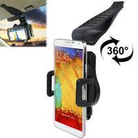 универсальный зажим мобильный телефон автомобильный держатель для samsung Galaxy Примечание 3 n9000 N7100 галактики Samsung i9300 из i9500 в экран i9200, для мобильный 5 5s 5С iPhone 4 и 4S