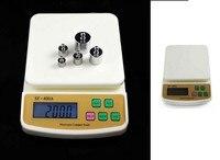 10 кг x 1 g цифровой почтовой панировке взвешивания весы электронные выпечки ингредиенты количество электронных подсветки sf-400a