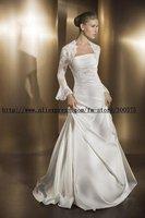 на заказ свадебные болеро / плечами куртка / свадебные долго кружева рукав куртки болеро