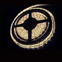 5 м 12 в теплый белый 5050 СМД 300 светодиоды гибкие светодиодные полосы светодиодная лента-гирлянда для рождественские украшения водонепроницаемый бесплатная доставка
