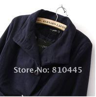 бесплатная доставка зима тонкий подходят мода давно бренд леди пальто