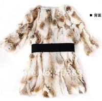 женщины в пальто мех тенденция, 100% Стивен колики мех костюмы дизайн профессионально