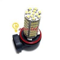 2 шт./лот противотуманная фара н11 102 смд 3528 авто из светодиодов белые огни туман лампа противотуманные фары 12 в бесплатная доставка оптовая продажа