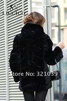 женская синуса пальто натуральный мех куртка с ни стоит мех колики с надпись # БМ-7