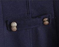 бесплатная доставка осень и зима женская мода тонкий пр наряд длинная шерстяное пальто верхняя одежда женский пальто