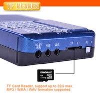 проигрывателя leadstar портативный мультимедиа и FM-радио с встроенный динамик с TF слот