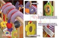 кэндис го! новые горячие продажи детские игрушки красочные животных ребенок кровать круг кровать круглая многофункциональная игрушка-погремушка, 1 шт