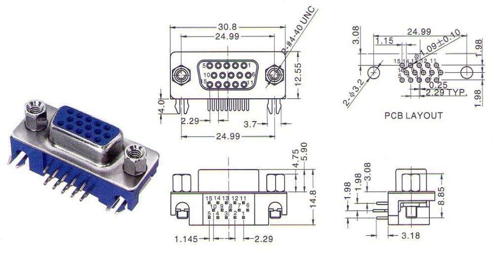 D-SUB-15FA-3.08