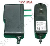 2а мощность 24 вт 12 в бесплатная доставка 1 шт. 100% новый сертификат Nasty постоянного тока адаптер питания зарядное устройство сша разъем АС/DC преобразователь конвертер