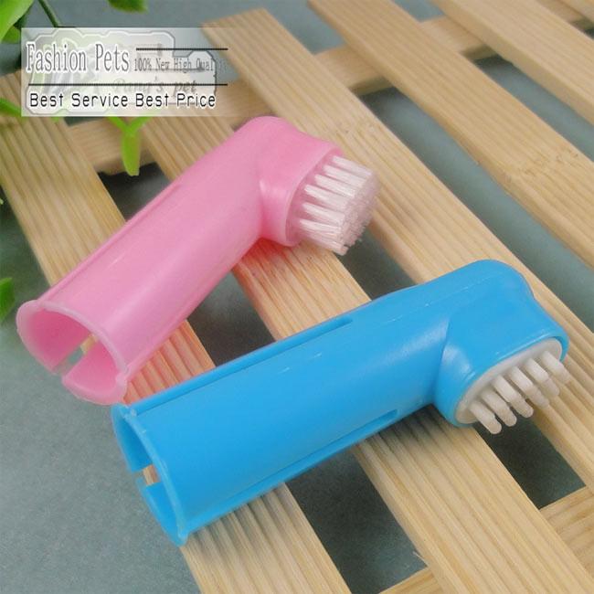 2 шт. / комплект собаки мягкая палец зубная щетка оральный зубные щетки помогает уменьшения зубного налета и зубного камня резинка домашние животные supples cw0046