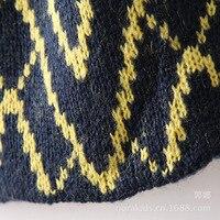 длинный вязаный кардиган свитер геометрический аргайл плед узором в полоску кардиган