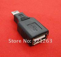 бесплатный перевозку груза 10 шт. USB с женщиной, б 5 контакт. конвертера переходники