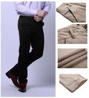 бесплатная доставка мужской Doug брюки свободного покроя брюки широкий середине моль лети цвета : черный Hack размер : 28 - 36 XS-Размер 4xl k702