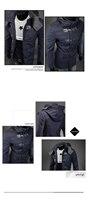 оптовая продажа торговли новый осень и зима мода мужской куртки сделок по продаже шерстяные с капюшоном ветровка пальто мужчины