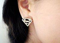 горячая европа америка мода ювелирные изделия современная геометрия с супермен треугольник кристалл стразы сплава серьги заводская цена 106