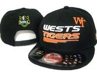 бесплатная доставка! оптовая продажа бейсболка вестс тигры нрл хип-хоп snapback шляпы заказ