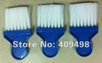 бесплатная доставка белый синий парикмахерские шеи щетка для очистки 15 шт./лот
