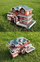 В 3D пластиковые дом дворец комплект строительство модель вилла