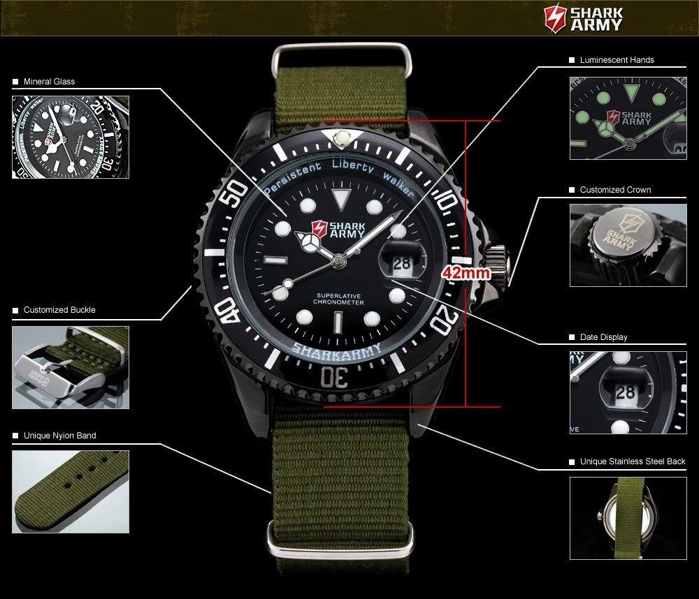 กองทัพฉลามสร้างสรรค์นาฬิกากองทัพสี 12