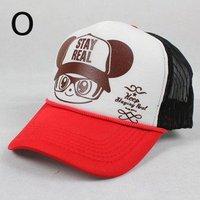 бесплатная доставка cores сетки грузовик кепка бейсбол женщин-мужская солнца