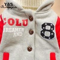 новый мальчиков одежда новый зима 2 цвет верхняя одежда пальто толстые дети одежда с капюшоном горячих