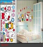 стена наклейки, комикс стена наклейка тигр и медведь искусство стена наклейка наклейка, hl1233, size33 * 60 см 10 шт. / много