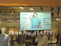 1,5 х 4 м заднего голографическая пленка / экран, идеально подходит для витрины рекламы с превосходными эффектами отображения