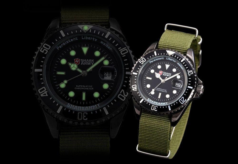 กองทัพฉลามสร้างสรรค์นาฬิกากองทัพสี 13